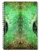 Dragon Eyes At Dawn Spiral Notebook