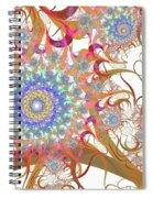 Dragon Flowers. Spiral Notebook