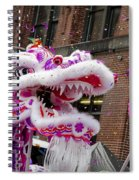 Dragon Moon Spiral Notebook