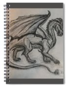 Dragon On The Move Spiral Notebook