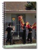 Dragon Parade Camarillo Year Of The Dog 2018 Spiral Notebook