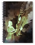 Dragon Princess Spiral Notebook