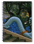 Bao Tang Temple Railing In Ho Chi Minh City Spiral Notebook
