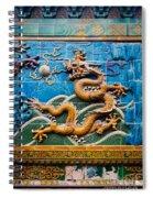 Dragon Wall Spiral Notebook