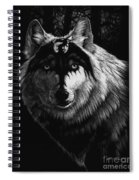 Dragon Wolf Spiral Notebook