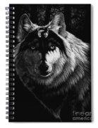 Dragon Wolf Spiral Notebook