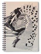 Dragon - Zentangle 16-04 Spiral Notebook