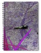 Dragonfly 2 Spiral Notebook