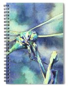 Dragonfly II Spiral Notebook