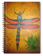 Dragonfly In Flight Spiral Notebook