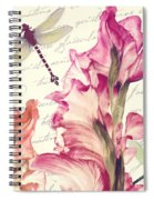 Dragonfly Morning II Spiral Notebook