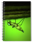 Dragonfly Nymph Spiral Notebook