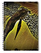 Dragonfly V Spiral Notebook