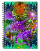Dragons Abstract. Spiral Notebook