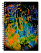 Dragons And Wizards Spiral Notebook