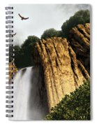 Dragons Den Canyon Spiral Notebook