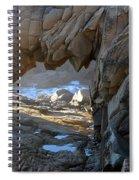 Dragons Teeth Salt Point California Spiral Notebook