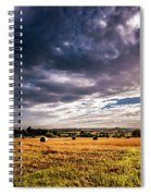 Drama In The Skies Spiral Notebook