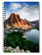 Drama Of The Canadian Rockies 3 Spiral Notebook