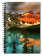 Drama Of The Canadian Rockies Spiral Notebook