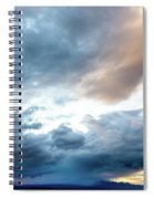 Drama Over Mt. Graham Spiral Notebook