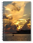Dramatic Clouds Spiral Notebook