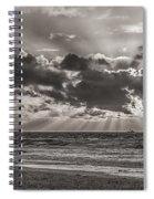 Dramatic Dutch Coast Spiral Notebook