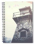 Dramatic Lighthouse Spiral Notebook