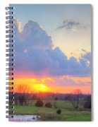 Dramatic Skies Spiral Notebook