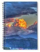 Dramatic Sky And Clouds Spiral Notebook