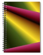 Draped Spiral Notebook