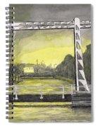 Draw Bridge In Meppel, Holland 2016 Spiral Notebook