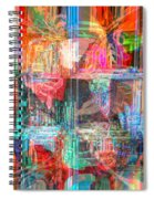 Draw On His Strength Spiral Notebook