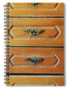 Drawers Spiral Notebook