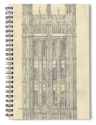 Drawing For The Houses Of Parliament Spiral Notebook