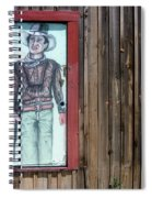 Drawing John Wayne Hondo  Medicine Horse Black Canyon City Arizona 2005 Spiral Notebook