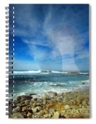 Drawn To The Sea Spiral Notebook