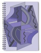 Drawn2abstract229 Spiral Notebook