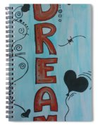 Dream Acrylic Watercolor Spiral Notebook
