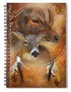 Dream Catcher - Autumn Deer Spiral Notebook