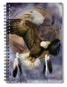 Dream Catcher - Spirit Eagle Spiral Notebook