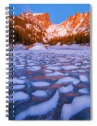 Dream Lake Dimples Spiral Notebook