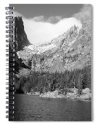 Dream Lake, Rocky Mountain National Park  Spiral Notebook