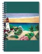 Dream Light House Spiral Notebook
