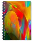 Dream Of Red Spiral Notebook