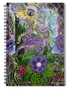 Dream Of The Bee Spiral Notebook