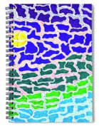 Dream Scape Spiral Notebook