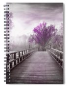 Dreaming At Dawn In Pink Spiral Notebook