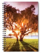 Dreaming At Sunrise Spiral Notebook
