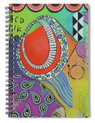 Dreaming In Colour Spiral Notebook